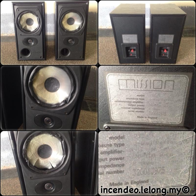 **incendeo** - Mission UK Loudspeaker 732