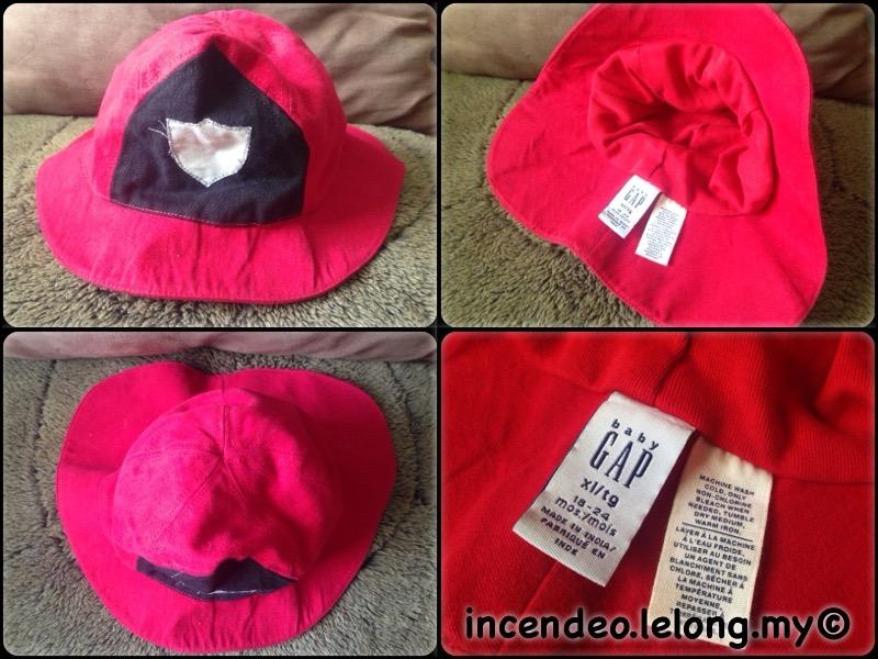 **incendeo** - Original Baby GAP Fireman Hat