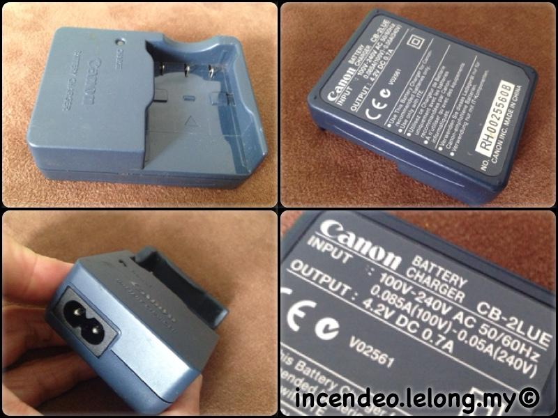 **incendeo** - Original CANON Camera Battery Charger CB-2LUE