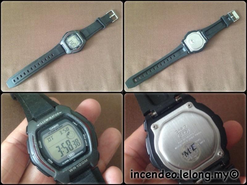 **incendeo** - Original CASIO 10 Year Battery WR100M Digital Watch