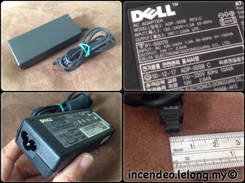 **incendeo** - Original DELL 19V 2.64A Power Adapter ADP-50SB
