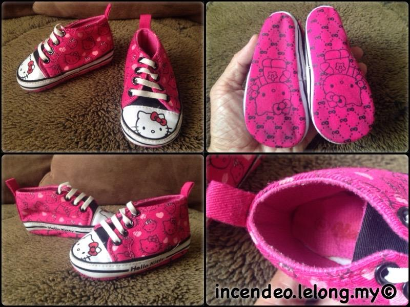**incendeo** - Original HELLO KITTY Baby Shoe
