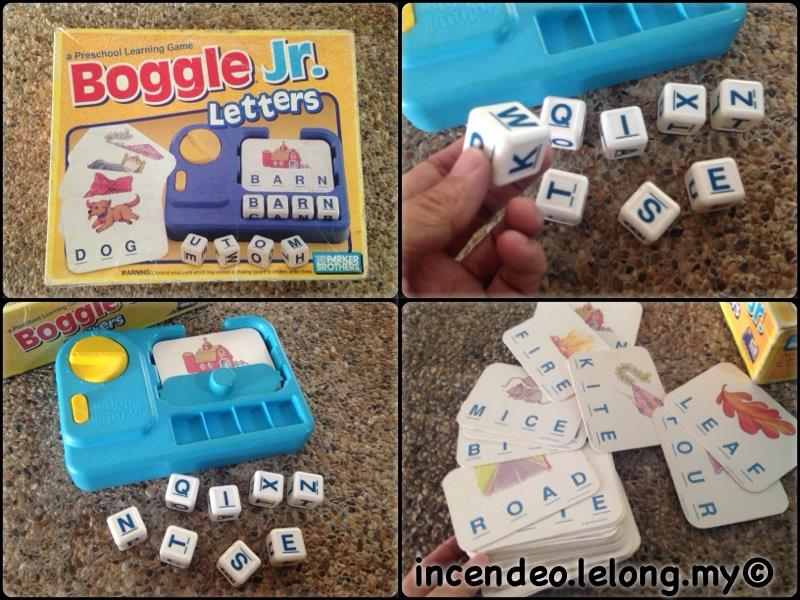 **incendeo** - PARKER BROTHERS Boggle Jr. Letters Game for Kids