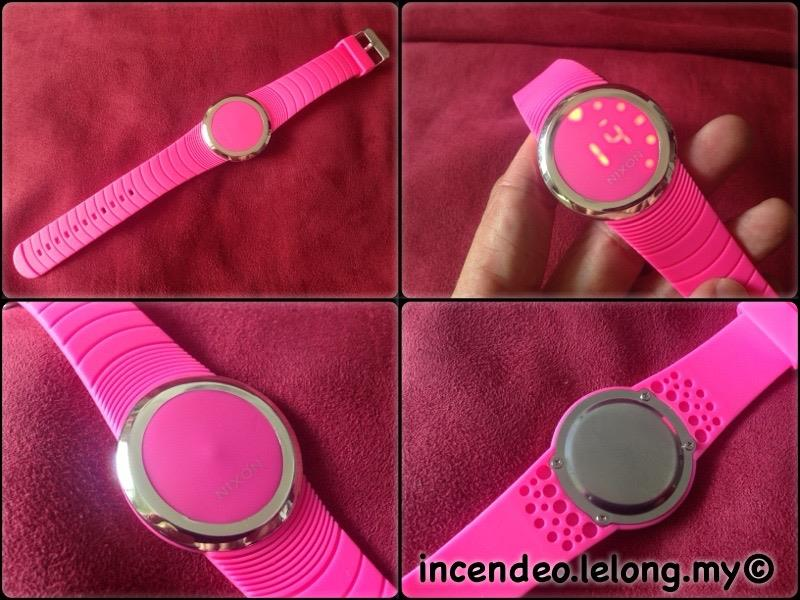 **incendeo** - Pink Digital LED Watch