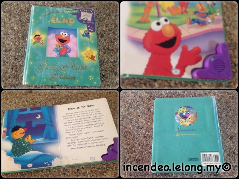 **incendeo** - SESAME STREET ELMO Good Night Stories Music Book