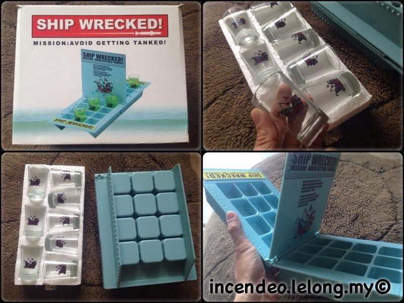 **incendeo** - SHIP WRECKED Get Tanked and Drunk Game