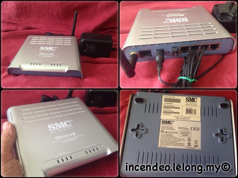 **incendeo** - SMC BARRICADE Wireless ADSL2+ Modem Router SMC7904WBRA2