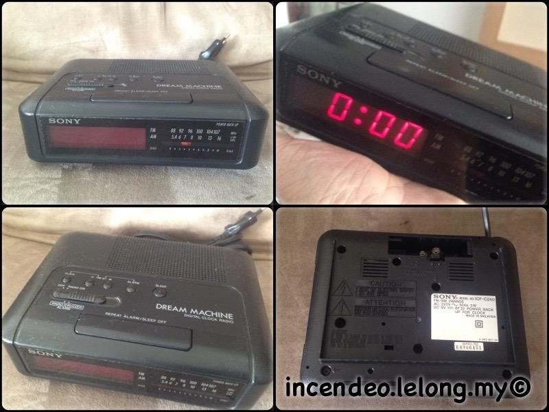 **incendeo** - SONY Dream Machine Digital Clock Radio ICF-C240