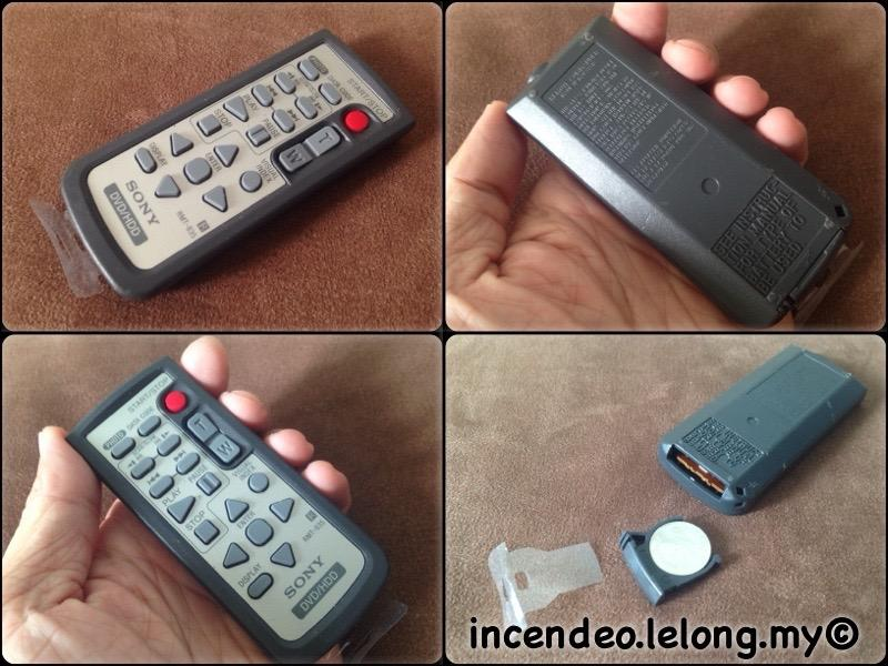 **incendeo** - SONY DVD/HDD Remote Control RMT-835