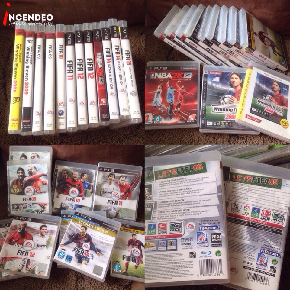 **incendeo** - SONY Playstation 3 (PS3) Sports Blu-Ray Games