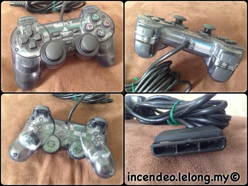 **incendeo** - SONY Playstation DualShock 2 See-Thru Game Controller