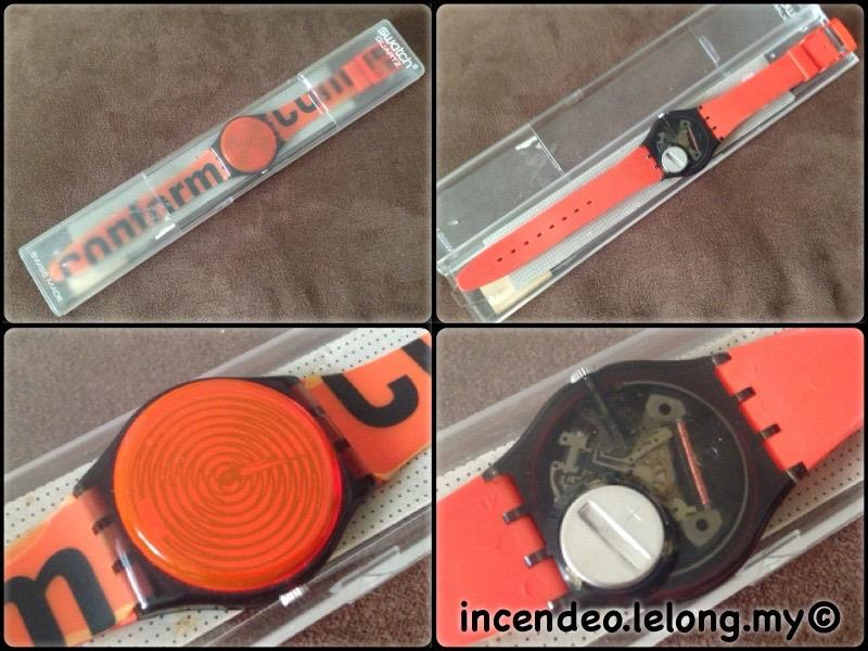 **incendeo** - SWATCH Conform GM139 1996 Collectible Watch