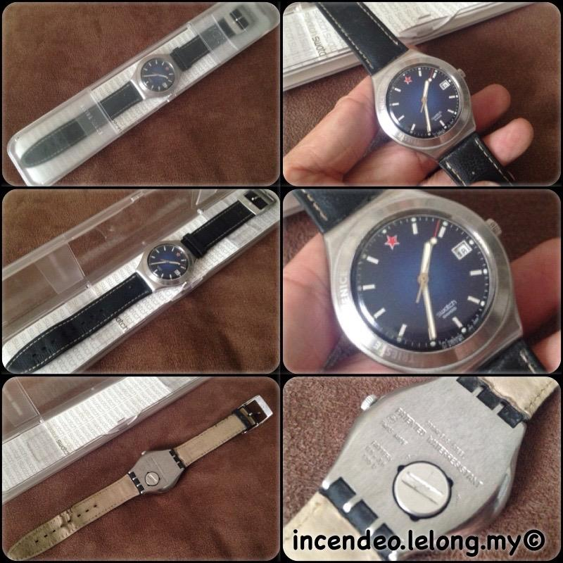 **incendeo** - SWATCH James Bond From Russia With Love YGS423 2002
