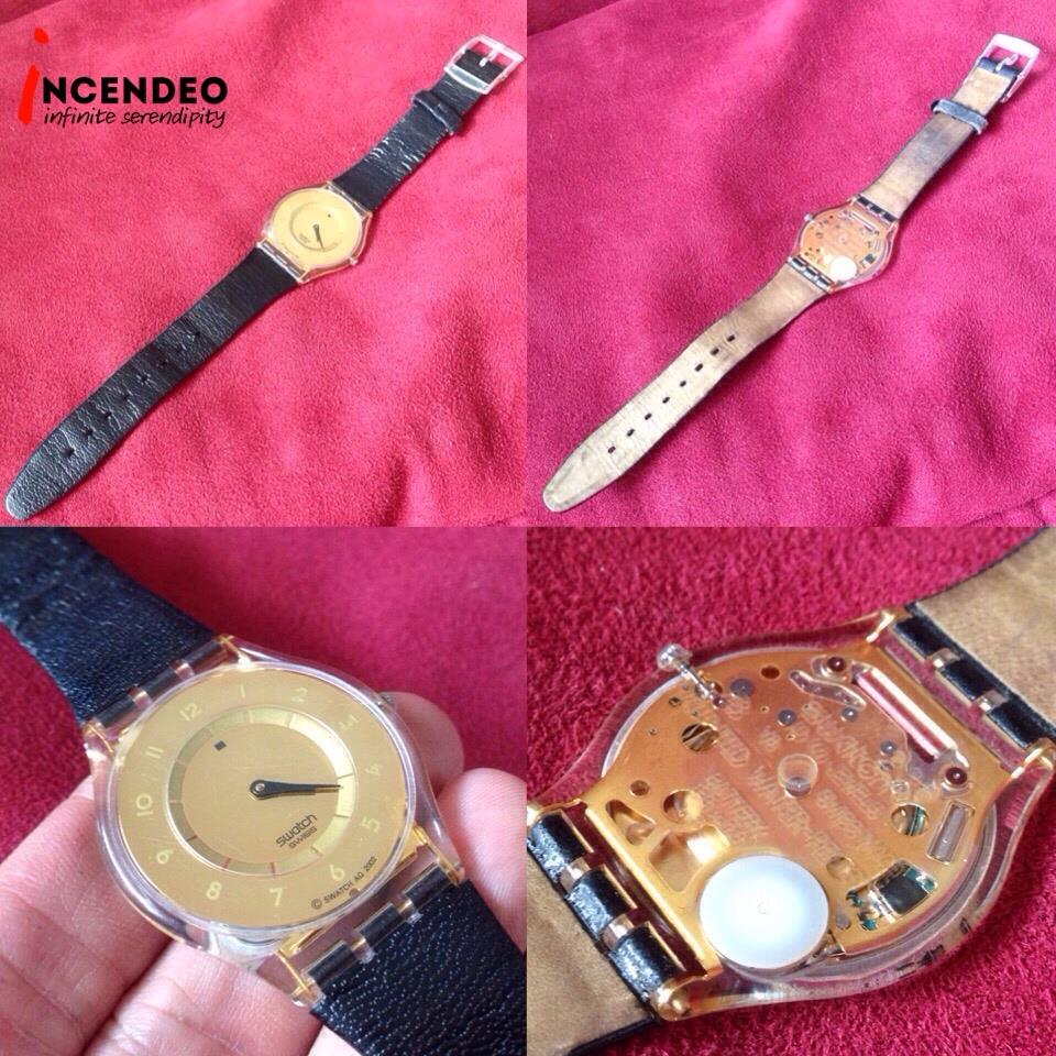 **incendeo** - SWATCH Skin Gold Quartz Watch