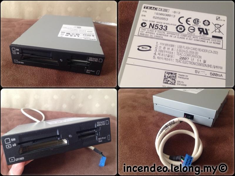 **incendeo** - TEAC Multi Card Reader CA-200