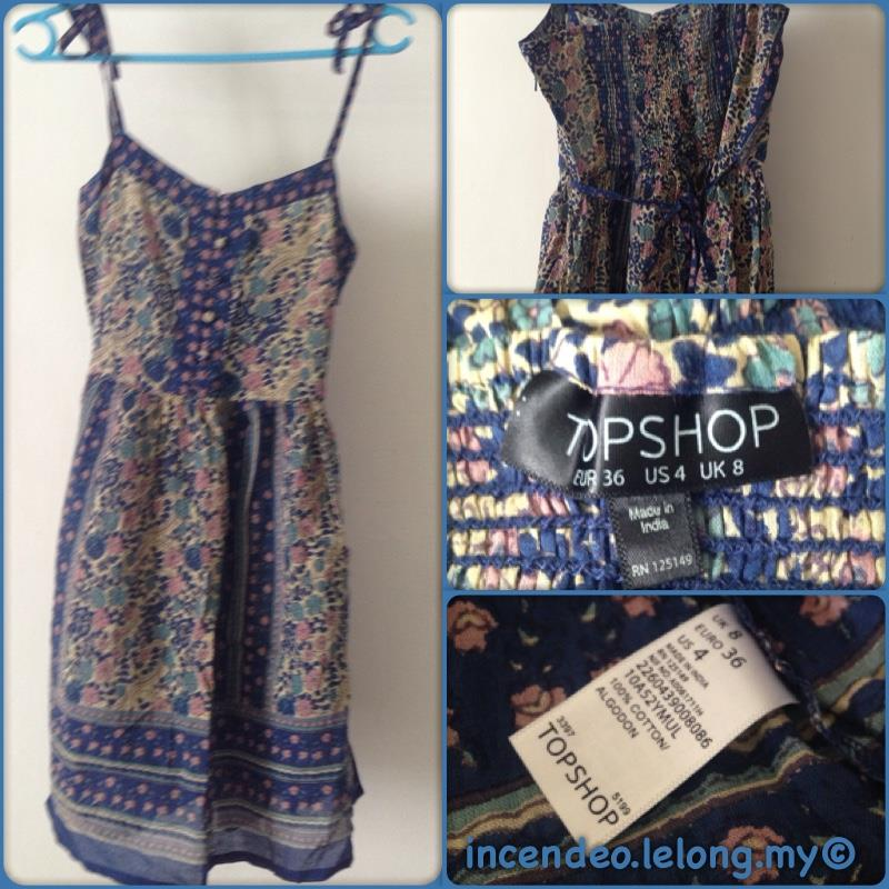 **incendeo** - TOPSHOP Blue Dress for Ladies
