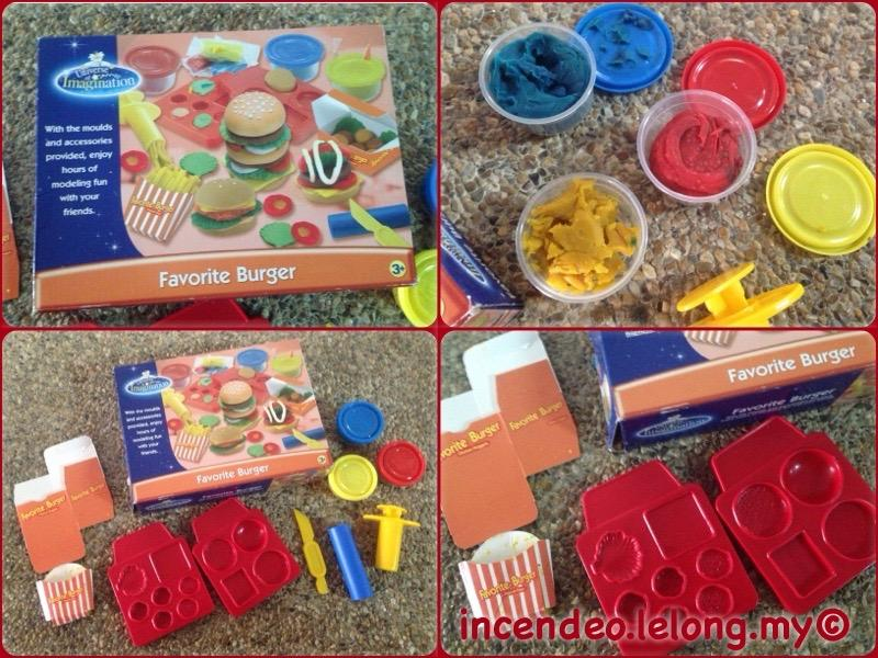 **incendeo** - Universe of Imagination Favorite Burger Play Set