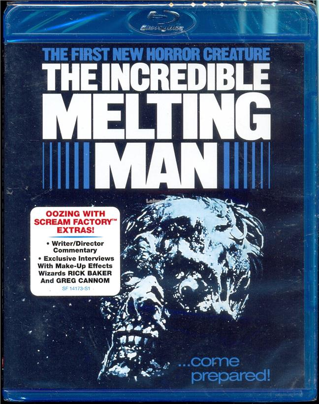 The Incredible Melting Man - New Blu-Ray