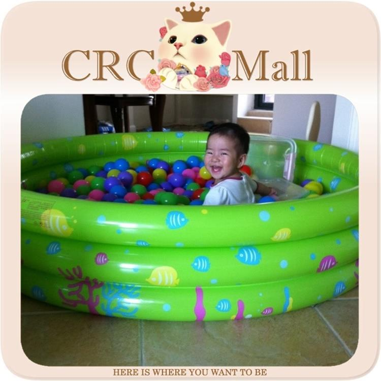 round Inflatable kids swimming pool