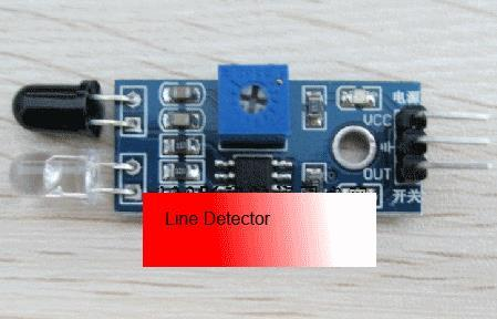 Infrared sensor module black n white obstacle line detection FOC cable