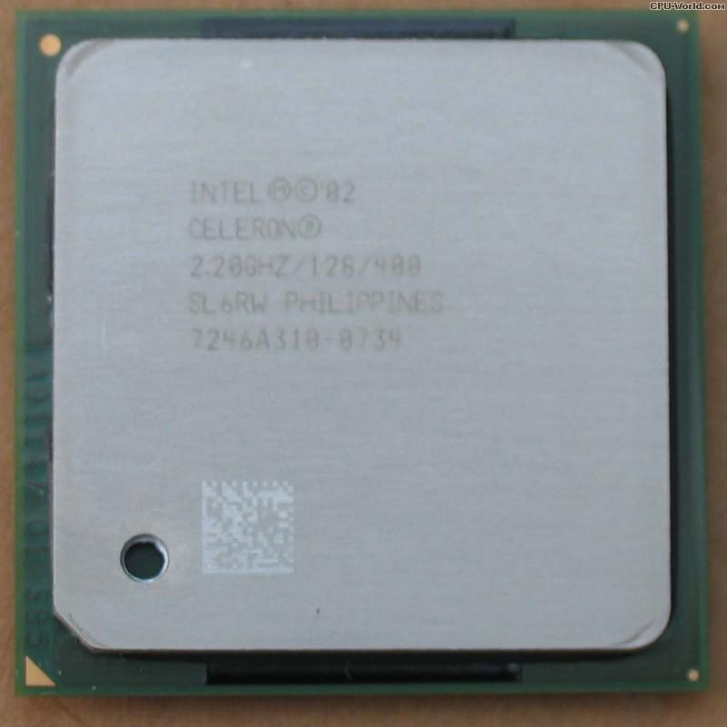 Intel Celeron Processor 2.20GHz 128K Cache Socket 478 PPGA478 CPU
