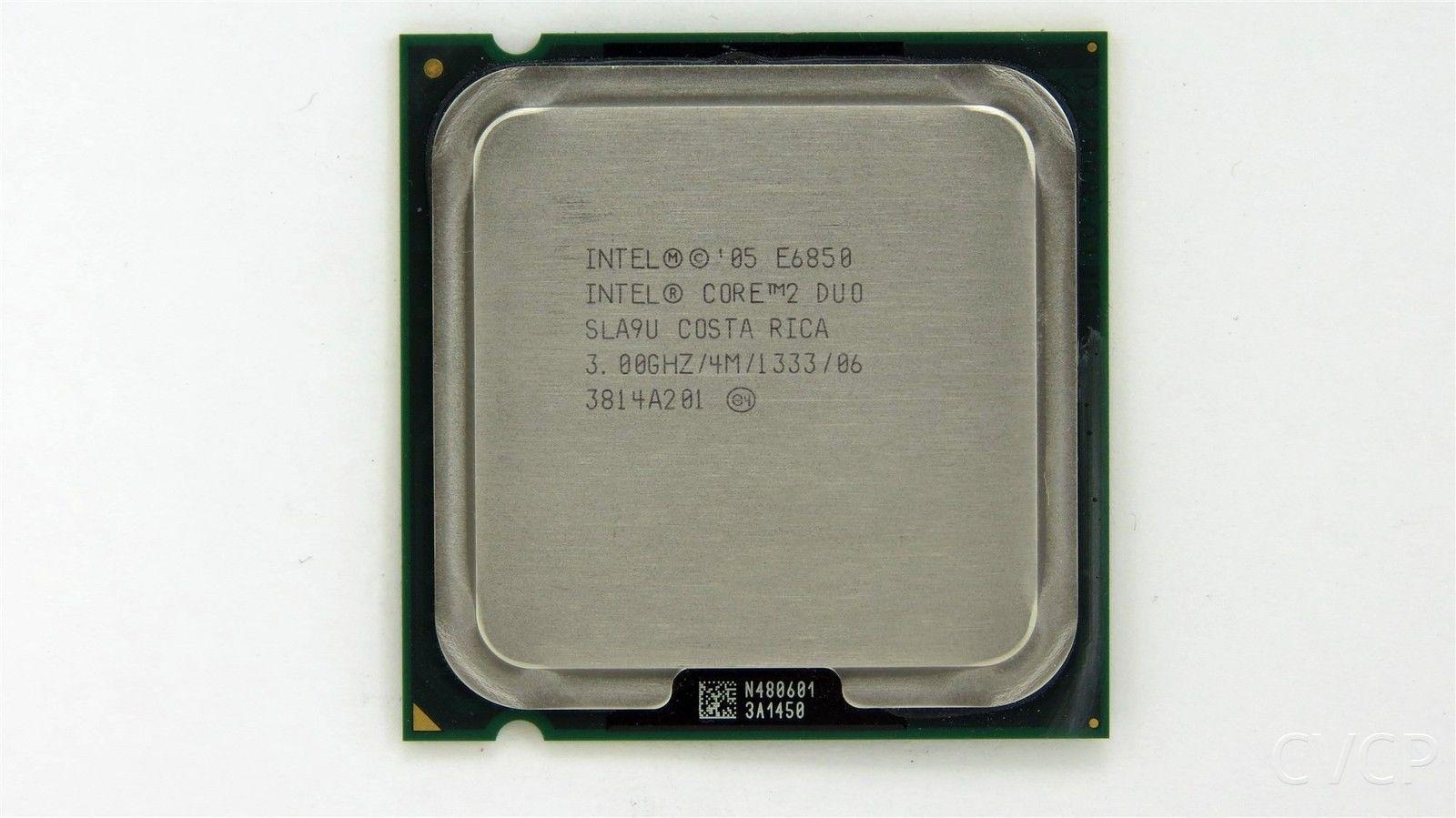 Intel Core 2 Duo E6850 3.00GHz 4MB Cache 1333MHz FSB LGA775 SLA9U