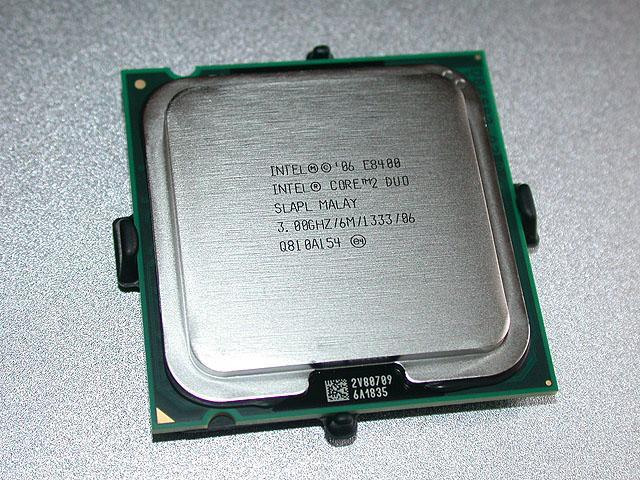 Intel Core 2 Duo E8400 -3.0GHz/6MB/1333 CPU (Free Delivery For W.M)