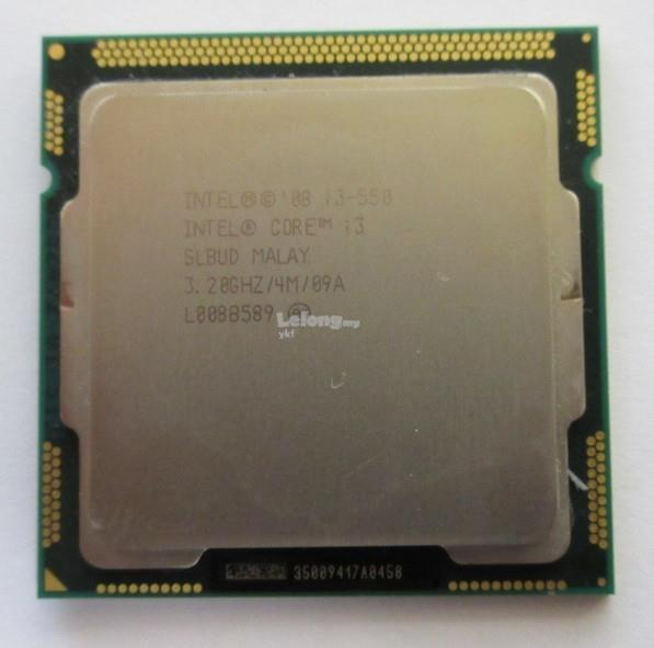 Intel Core i3 550 Clarkdale Dual-Core 2x 3.2 GHz LGA 1156(Free Post WM