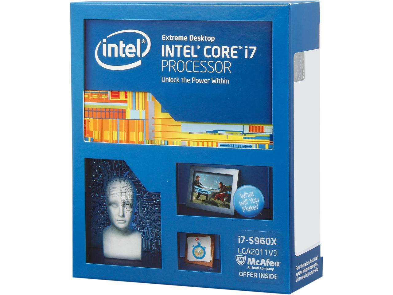 # Intel Core i7-5960X Extreme Edition CPU 8C16T # LGA 2011-v3