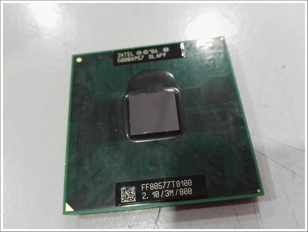 Intel Core2Duo T8100 (3MB, 2.1GHz, 800MHz FSB) CPU