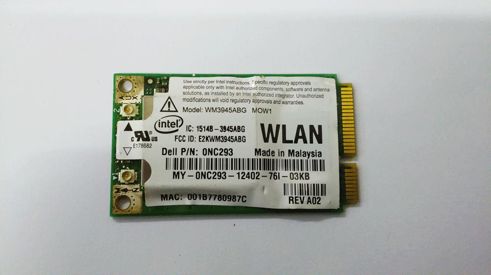 Intel PRO/Wireless WM3945ABG 54Mbps 802.11a/b/g Mini PCI Express (PCI-