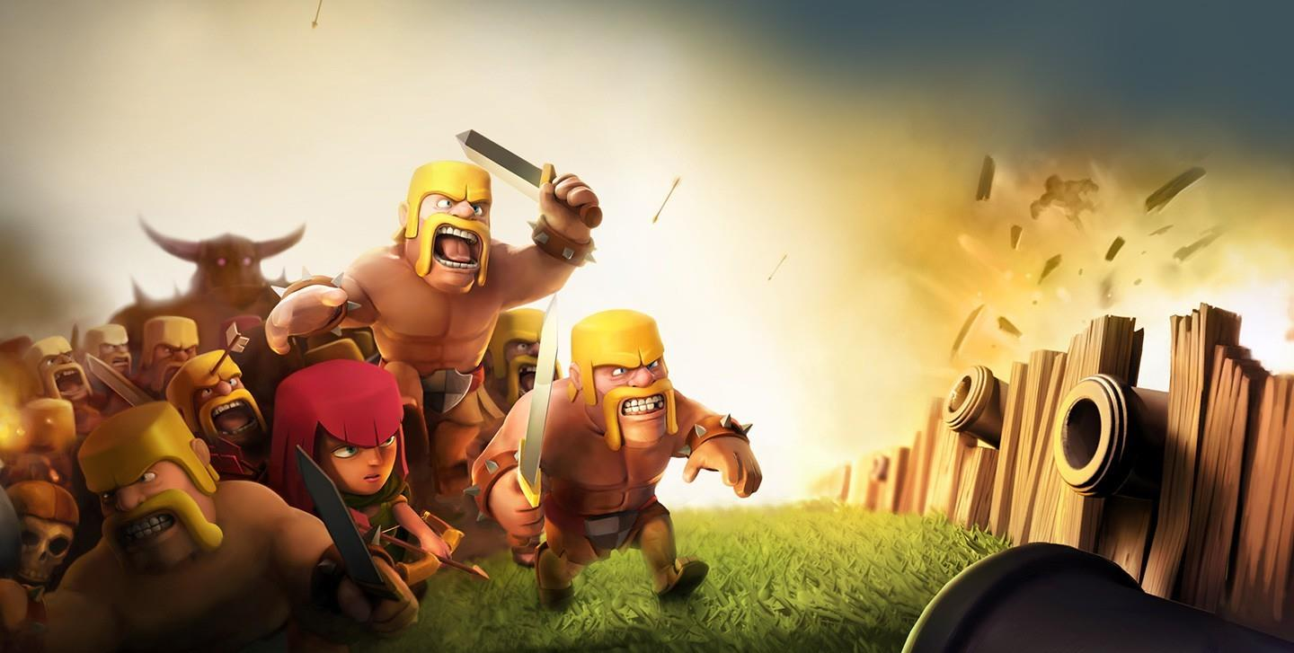 IOS/Android COC Clash Of Clan end // PM