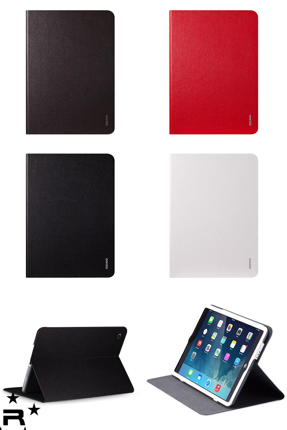 iPad Air Ozaki O!coat - Slim Mobility Adjustable Multi Angle Slim Case