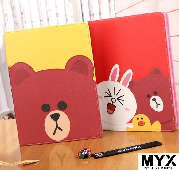 iPad Mini 4 Line Cute Casing Case Cover