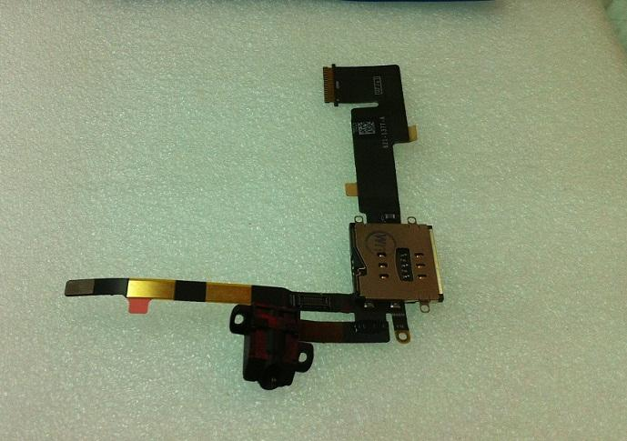 IPad2 3G Sim Card Slot Reading H/F Jack Flex Cable Ribbon ipad 2