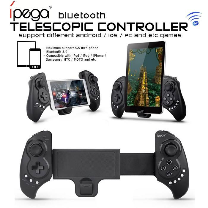 iPega PG-9023 Gaming Bluetooth Telescopic Controller for Smartphones a