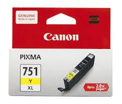 IPG. CANON INK CARTRIDGE CLI-751XL YELLOW 600 PAGES