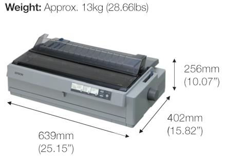 IPG. EPSON PRINTER DOT MATRIX LQ-2190 (P)
