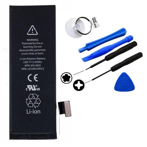 Iphone 3gs 4 4g 4s 5 5s 5c 6 6S Plus Battery + Tools @ 6 MTH WRTY
