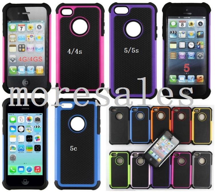 iphone 5c used iphone 4 4s 5 5s 5c back cover anti impact casing end 4 2786