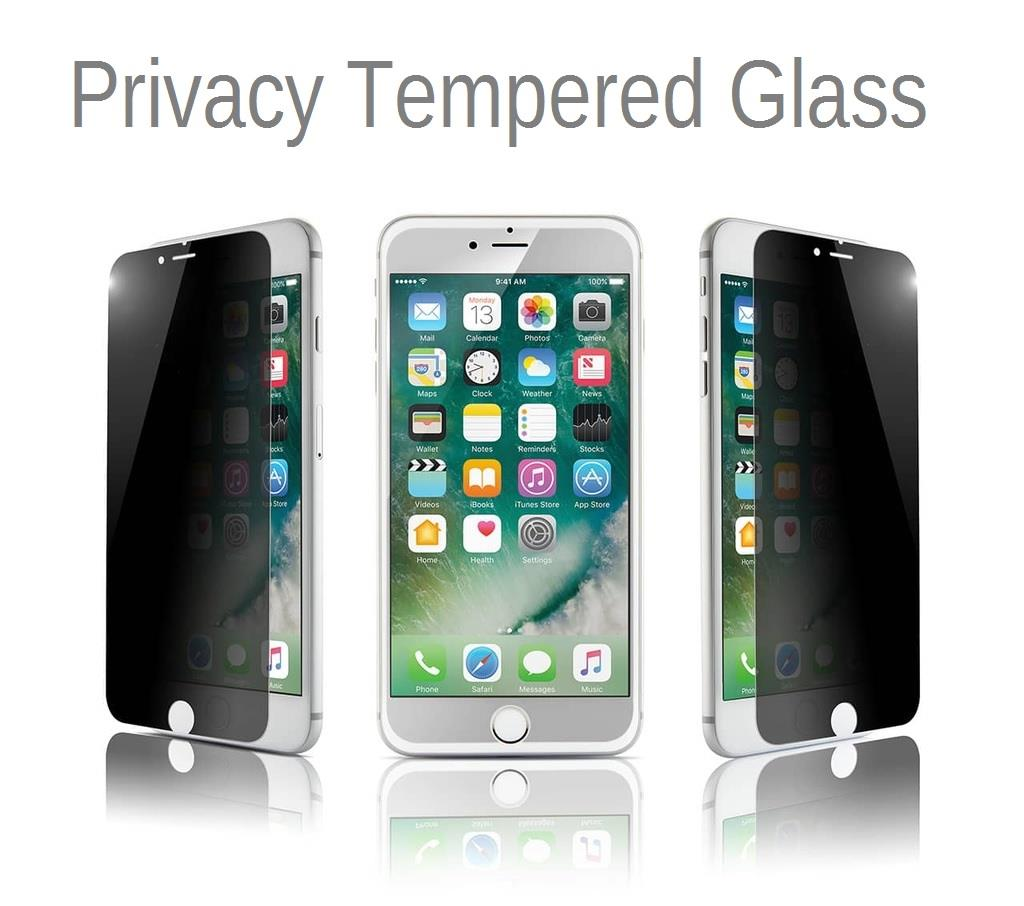 iPhone 4 4S 5 5S SE 6 6S 7 / 7 Plus Privacy Tempered Glass
