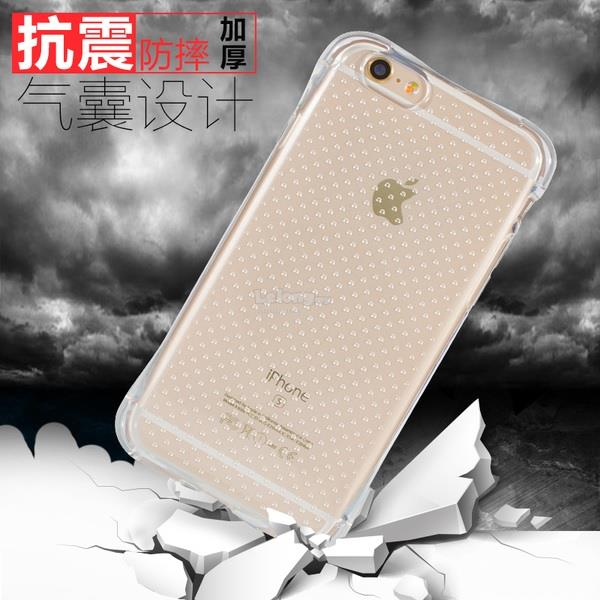 Iphone 4S 5S SE 6 6S 6S+ 7 7+ Plus Anti Crash Shock Proof AirBag Case