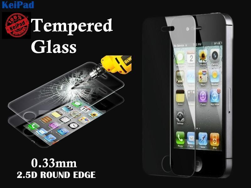 Iphone 5 5S 5C Screen Protector Tempered Glass  Round Edge 2.5D