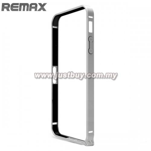 iPhone 5 / 5s Remax Metal Bumper - Silver