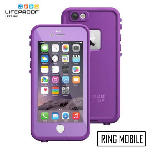 iPhone 6 4.7' Lifeproof Fre Series Waterproof Protective Case - Purple