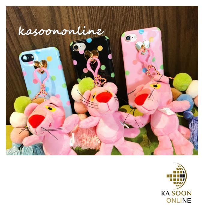 iPhone 6/6s/7 4.7'',6Plus/6sPlus/7 Plus 5.5'' 3D Pink Panther Case