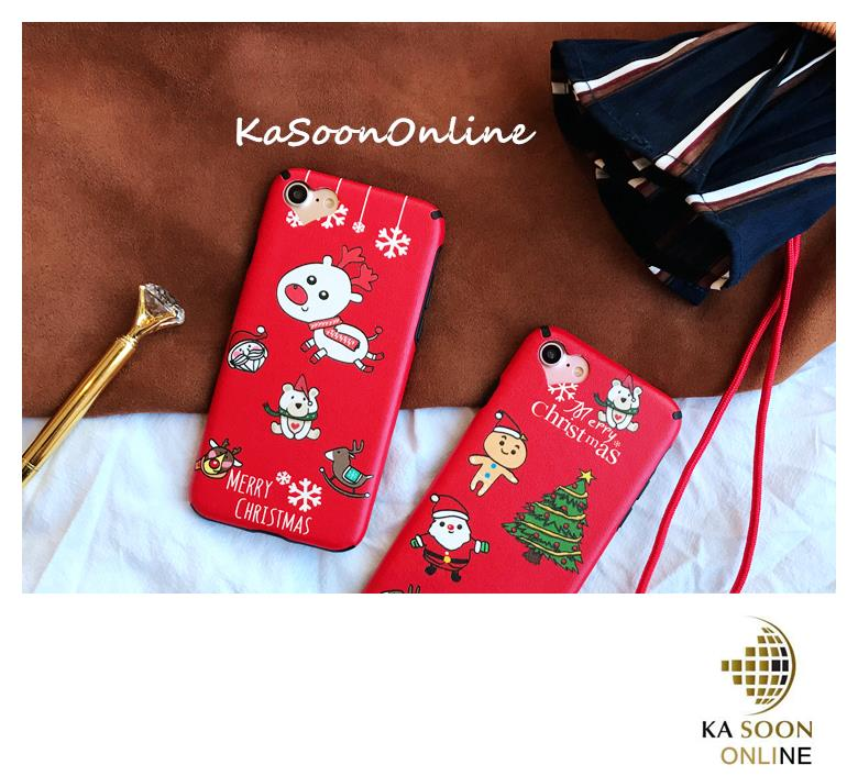 iPhone 6/6s/7 4.7'',6Plus/6sPlus/7 Plus 5.5'' Christmas Series Case