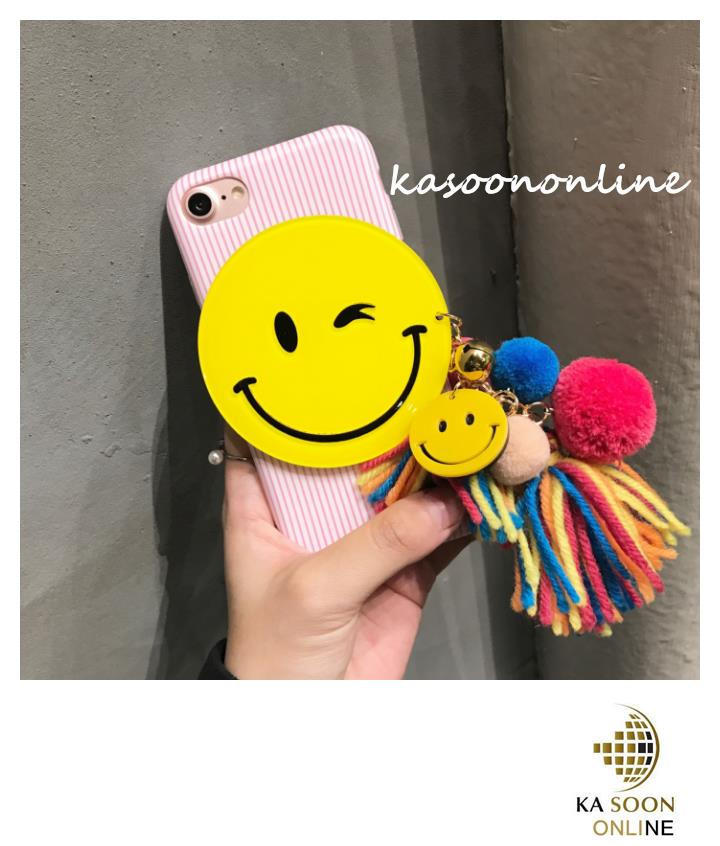 iPhone 6/6s/7 4.7'',6Plus/6sPlus/7 Plus 5.5'' Line & Smile Case