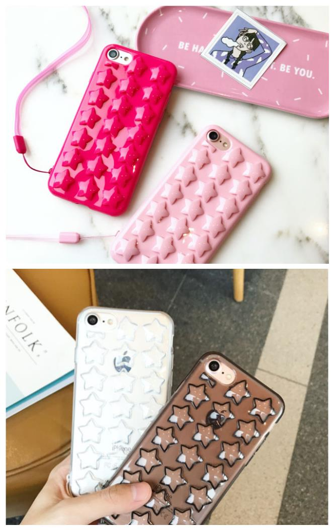 iPhone 6/6s/7 4.7'',6Plus/6sPlus/7 Plus 5.5'' Stars Stars Case