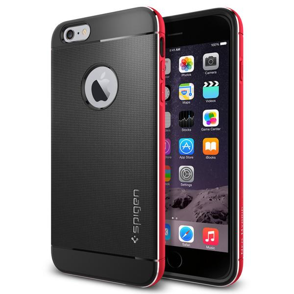 iPhone 6/6s Case Spigen Neo Hybrid Metal - Metal Red